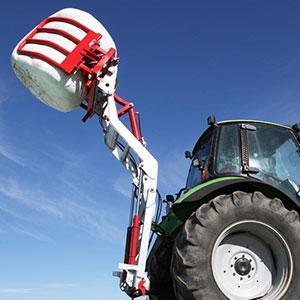 Fliegl Variant - Traktor első, hátsó rakodó adapter